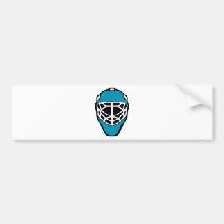 Hockey-Maske Autoaufkleber