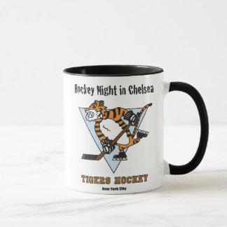 Hockey-Nacht in der Chelsea-Kaffee-Tasse Tasse