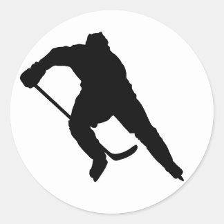 Hockey-Player-Silhouette-1 Sticker