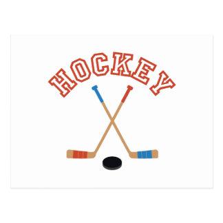 Hockey Postkarte