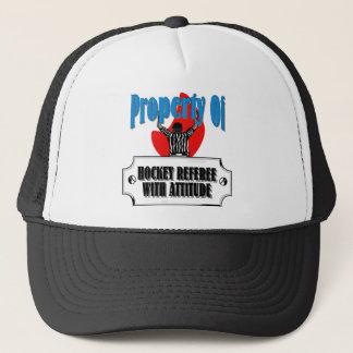 Hockey-Referent Truckerkappe