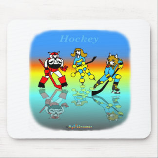 Hockey scherzt Mausunterlage Mousepad