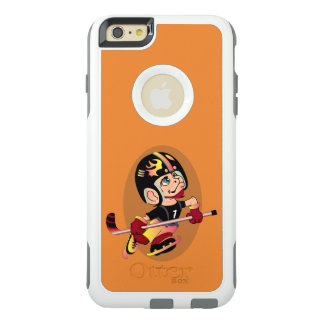 HOCKEY-SPIELER-CARTOON Apple iPhone 6 Plus-CS W OtterBox iPhone 6/6s Plus Hülle