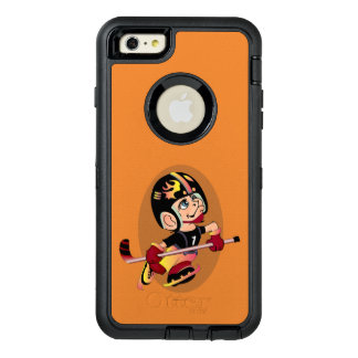 HOCKEY-SPIELER-CARTOON Apple iPhone 6 Plus-DF OtterBox iPhone 6/6s Plus Hülle