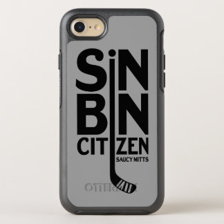 Hockey-Sünden-Behälter-Bürger OtterBox Symmetry iPhone 8/7 Hülle