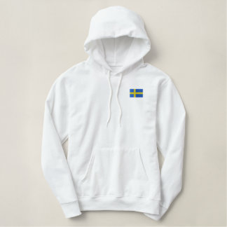 Hockey-Team SCHWEDEN-Schwede-Sport Bestickter Hoodie