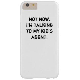 "Hockey-Telefon-Kasten - ""der Agent des Kindes "" Barely There iPhone 6 Plus Hülle"