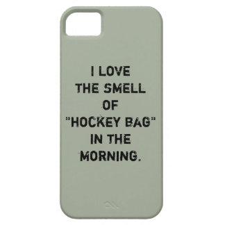 """Hockey-Telefon-Kasten - """"ich Liebe der Geruch… """" Etui Fürs iPhone 5"""