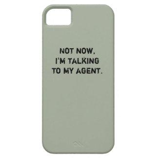 "Hockey-Telefon-Kasten - ""nicht jetzt… "" Barely There iPhone 5 Hülle"