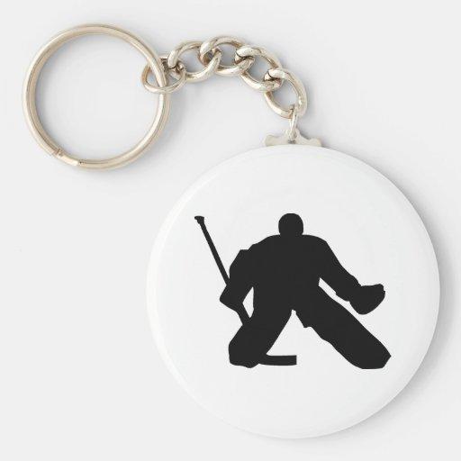 Hockey - Tormann Schlüsselanhänger