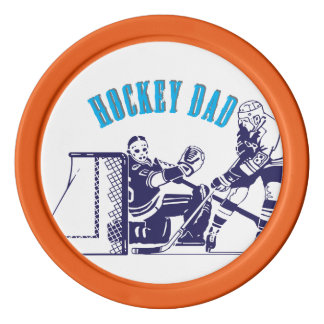Hockey-Vati Poker Chips Set