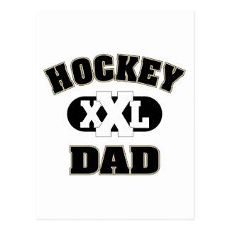 Hockey-Vati Postkarte