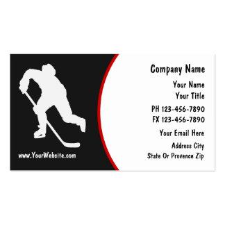 Hockey-Visitenkarten
