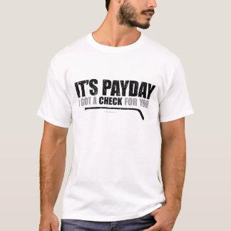 Hockey-Zahltag T-Shirt