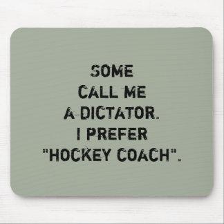 "Hockey-Zug-Mausunterlage - ""einige rufen mich… ""an Mousepad"