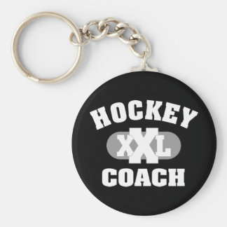 Hockey-Zug Standard Runder Schlüsselanhänger