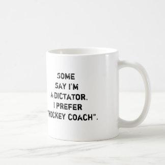 """Hockey-Zug-Tasse - """"einige sagen… """" Kaffeetasse"""