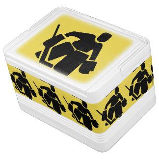 Hockeygoalie-Iglu cooler Kühlbox