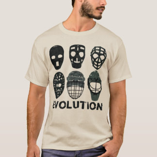 Hockeygoalie-Masken-Evolution T-Shirt