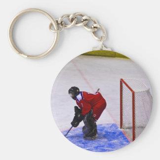 Hockeytorhüter Schlüsselband