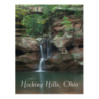 Hocking Hügel, Ohio Postkarte