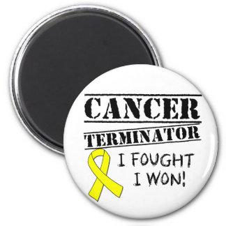 Hodenkrebs-Abschlussprogramm Kühlschrankmagnete