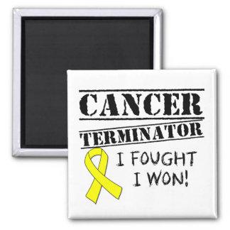 Hodenkrebs-Abschlussprogramm Kühlschrankmagnet