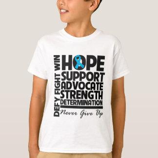 Hodenkrebs-Hoffnungs-Stützanwalt T-Shirt