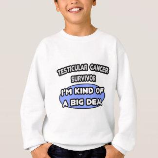Hodenkrebs-Überlebend-… Art einer großen Sache Sweatshirt