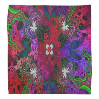 Hodge Podge mit Blumenabstraktes Halstuch
