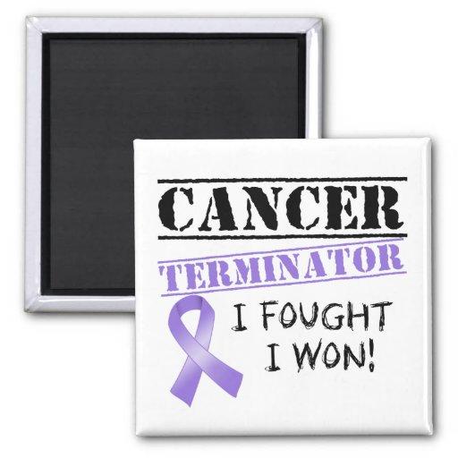 Hodgkins Lymphom-Krebs-Abschlussprogramm Kühlschrankmagnete