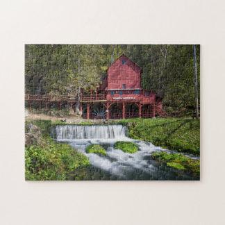 Hodgson-Wasser-Mühllandschaft Puzzle