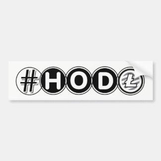 #HODL Litecoin Autoaufkleber