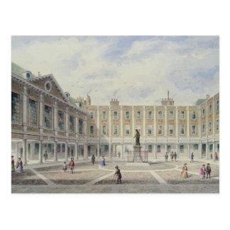 Hof von St Thomas Krankenhaus Postkarte