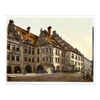Hofbrauhaus, Klassiker Phot Münchens, Bayern, Postkarte