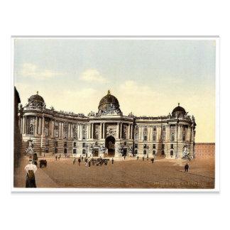 Hofburg, Klassiker Photochrom Wiens, Austro-Ungarn Postkarte