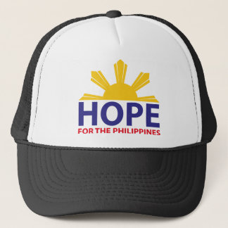 Hoffnung für die Philippinen Truckerkappe