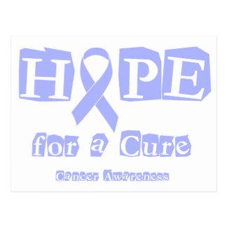 Hoffnung für eine Heilung - Lavendel-Band-General Postkarte
