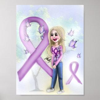 """""""Hoffnung für Fibromyalgia"""" (Plakat) Poster"""