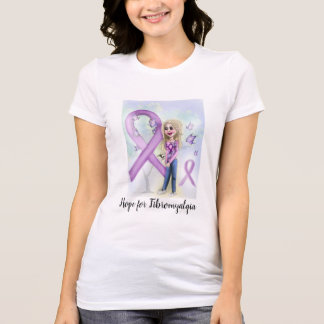 """""""Hoffnung für Fibromyalgia """" T-Shirt"""