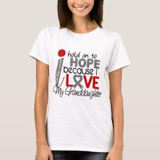 Hoffnung für meinen Enkelin-Hirntumor T-Shirt