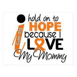 Hoffnung für meinen Mama-multiple Sklerose Postkarte