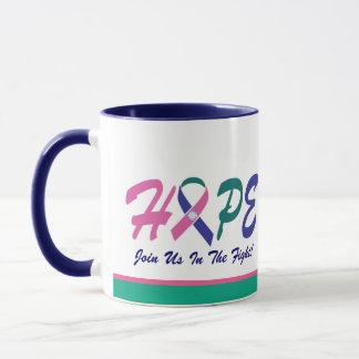 HOFFNUNG - Geschenkartikel (alle Band-Farben) Tasse