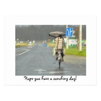 Hoffnung haben Sie einen sunshiny Tag! Ungarn 2008 Postkarte