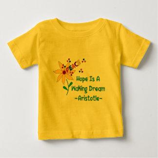 Hoffnung ist ein weckender Traum Baby T-shirt
