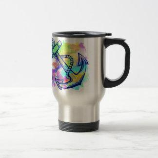 Hoffnung ist meine Anker-Reise-Tasse Reisebecher