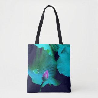 HOFFNUNG: Lotus-Knospe:: bereiten Sie vor, um zu Tasche