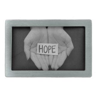 Hoffnung Rechteckige Gürtelschnalle