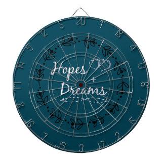 Hoffnung+TraumTasse Dartscheibe