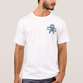Hoffnung u. Mut, den Kampf zu führen T-Shirt